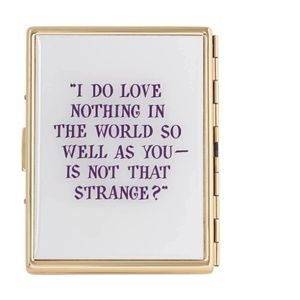 kate spade Accessories - NWT Kate Spade Much Ado About Nothing Card Case!